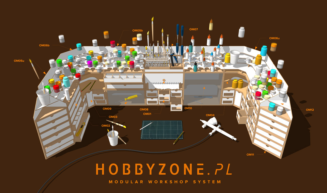 hz sistema modulare worskhop - baner