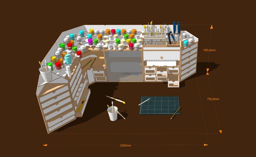 Modular Workshop System
